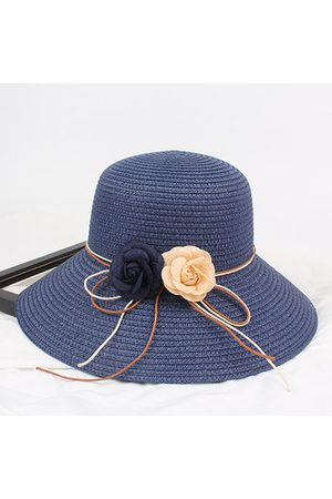 Newchic Women Hats - Women Summer Foldable Straw Bucket Hat