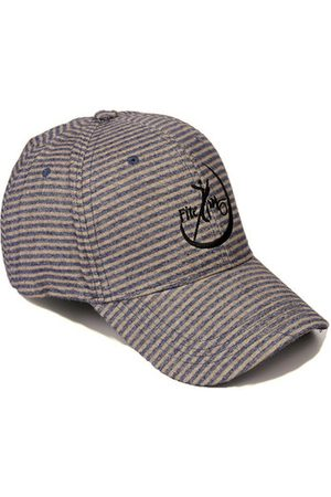 Newchic Stripe Cotton Breathable UV Protection Outdoor Baseball Cap