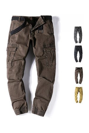 Newchic Outdoor Cotton Multi-pocket Cargo Pants