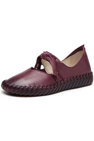 Newchic SOCOFY Casual Flat Leather Shoes