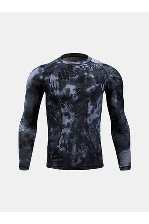 Newchic PRO Quick Dry Camouflage Sport T shirt