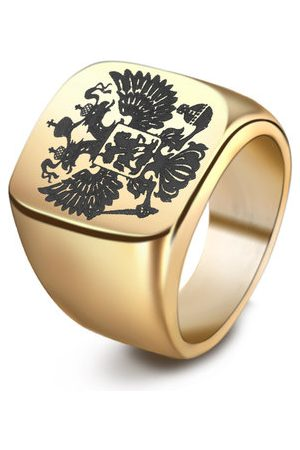 Newchic Fashion Double Eagle Ring for Men
