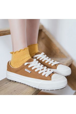 Newchic Looking Breathable Cotton Middle Tube Socks