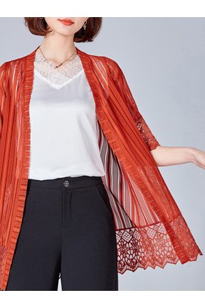 Newchic Lace Front Open Summer Kimonos