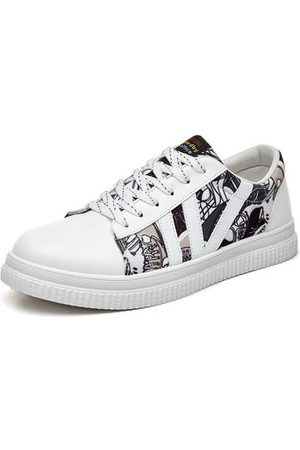 Newchic Men Printed Casual Trainers