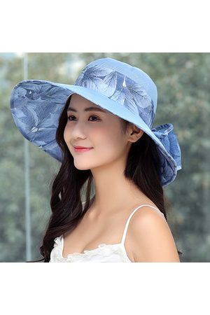Newchic Womens Bowknot Summer Foldable Bucket Hat
