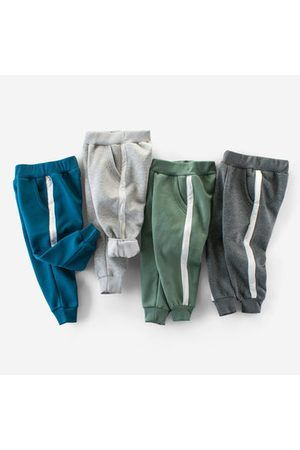 Newchic Boys Pants - Sport Style Striped Boys Pants