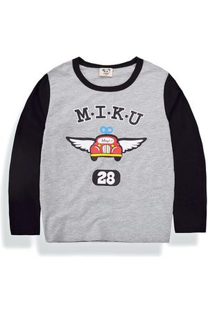 Newchic Boys Long Sleeve - Printed Boys Long Sleeve T Shirt