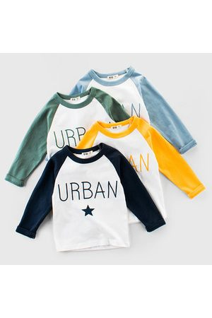 Newchic Boys Long Sleeve - Letter Printed Boys Long Sleeve T Shirt