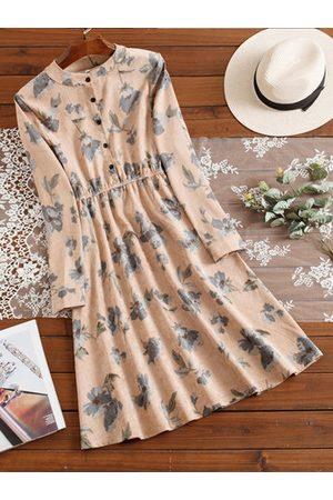Newchic Casual Floral Print Women Dresses