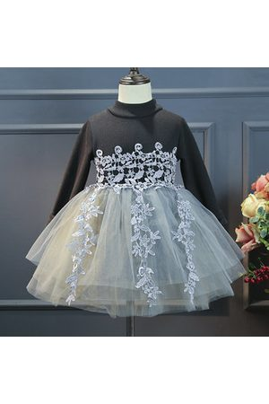 Newchic Girls Casual Dresses - Girls Casual Lace Flower Dresses