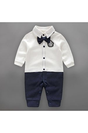Newchic Formal Suit Style Baby Boy Romper
