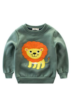 Newchic Boys Sweatshirts - Cartoon Printed Boys Sweatshirts