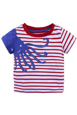 Newchic Boys Short Sleeve - Car Printed Boys Short Sleeve Tops