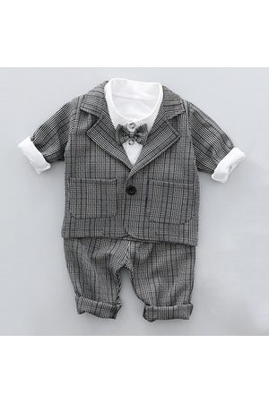 Newchic 3pcs Baby Boy Suits with Tie
