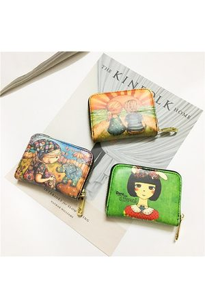 Newchic Women Wallets - Cute Style 11 Card slots Small Card Holder