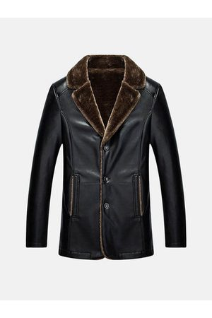 Newchic Men Leather Jackets - Mens PU Leather Jacket