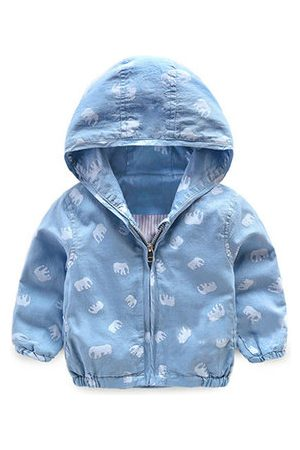 Newchic Printed Boys Cotton Jacket