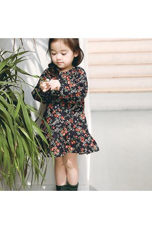 Newchic Floral Baby Girls Romper Dresses