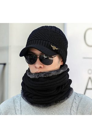 Newchic Slouch Warm Baseball Cap Collar Scarf Set