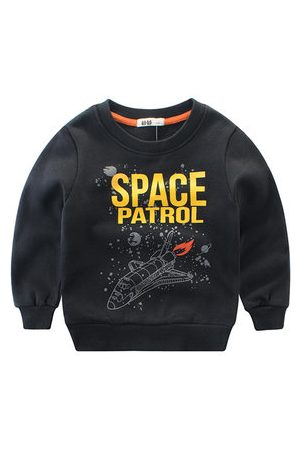 Newchic Boys Sweatshirts - Printed Baby Boys Fleece Sweatshirts