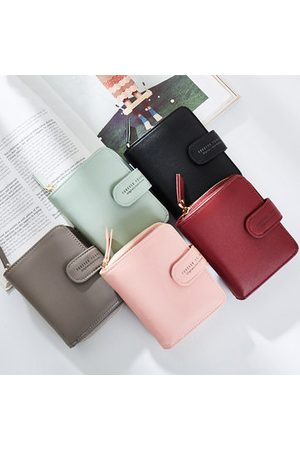 Newchic Women Wallets - Stylish Pure Color Small Wallet