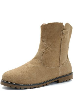 Newchic Women Boots - Large Size Suede Boots