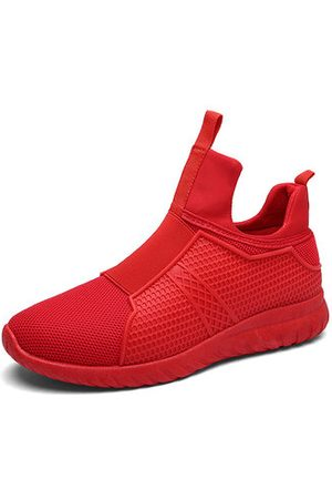 Newchic Men's High Top Breathable Athietic Shoes