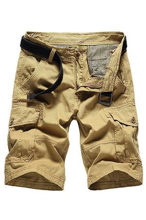 Newchic Men Cargo Pants - Breathable Cotton Casual Cargo Shorts