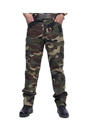Newchic Men Cargo Pants - Camouflage Outdoor Cargo Pants Military Pants