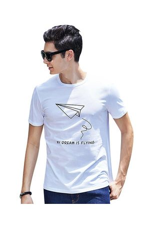 Newchic 100%Cotton Breathable Printed T-shirt
