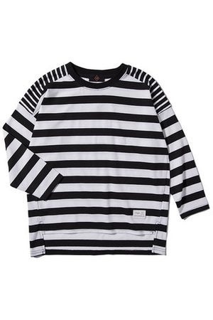 Newchic Stripe Boys Long Sleeve Tops
