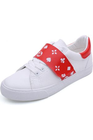 Newchic M.GENERAL Poker Pattern Casual Sport Shoes For Women