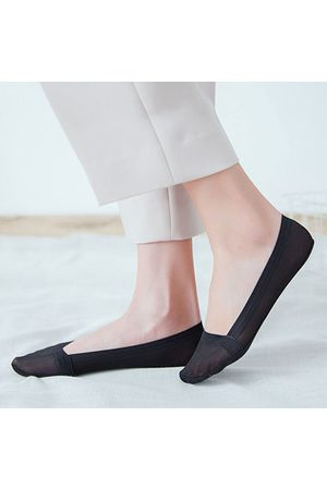 Newchic Women Summer Breathable Invisible Boat Socks