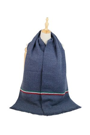 Newchic Men Scarves - Solid Cashmere Tassel Scarves Shawl