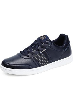 Newchic Men Lace Up Casual Trainers