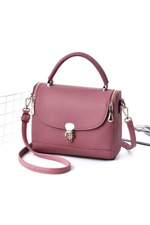 Newchic Women Concise Buckle Solid Small Square Crossbody Bags