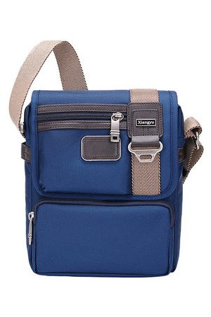 Newchic Men Laptop Bags - Nylon Business Waterproof Outdoor Shoulder Crossbody Bag