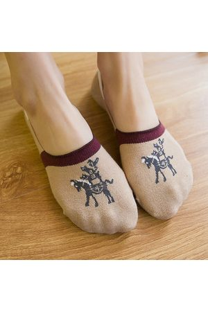 Newchic Cotton Sweat Quick Dry Breathable Invisible Ankle Socks