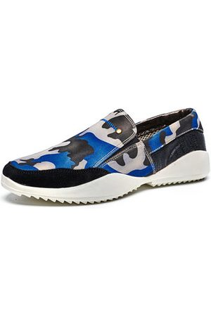 Newchic Men Camouflage Pattern Casual Shoes