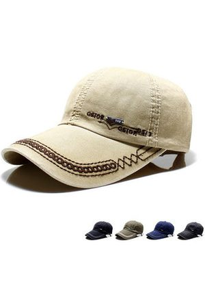 Newchic Men Caps - Washed Flat Service Baseball Cap