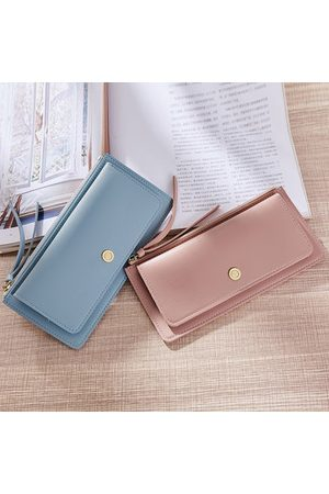 Newchic Women Wallets - Candy Color PU Leather Long Wallet