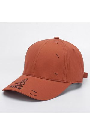 Newchic Men Caps - Cotton Letter Pattern Solid Color Baseball Cap
