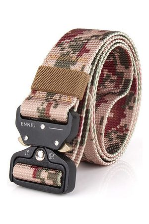 Newchic Nylon Camouflage Canvas Plate Buckle