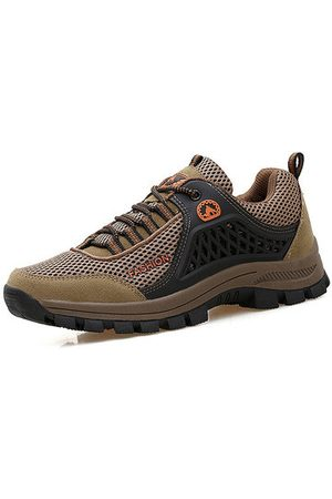 Newchic Men Breathable Wear-resistant Outdoor Sport Casual Sneakers