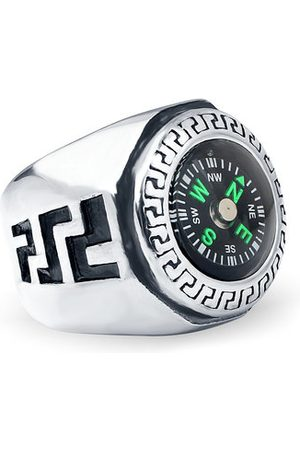 Newchic Men Rings - Punk Geomeric Compass Ring
