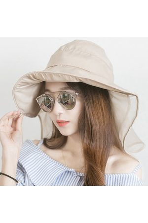 Newchic Women Hats - Women Foldable Wide Brim Sunscreen Sun Hat
