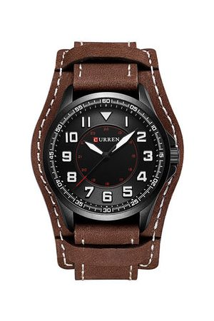 Newchic Men Watches - Casual PU Leather Men Watch