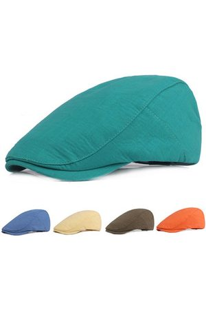 Newchic 6 Colors Cotton Beret Cap For Men& Women Adjustable Hats