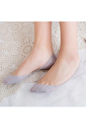 Newchic Women Socks - Women Summer Thick Ped Invisible Boat Socks